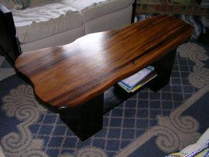 Monkeypod table